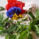 ingredienten voor een zomerse kruidenboter...
