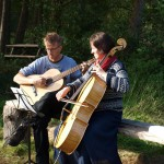 hoogtepunt was zeker een klein, fantastisch concert van Carla van Geel (cello), ondersteund door Carsten